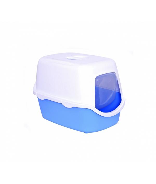 Туалет закрытый Cathy, голубой, 56*40*40см (97575)