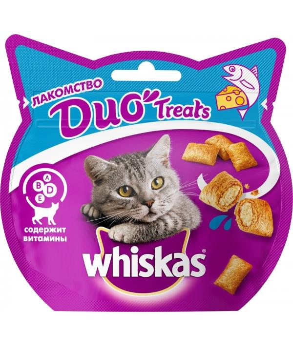 Лакомство для кошек DUO с лососем и сыром 10167962