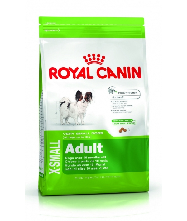 Для взрослых собак карликовых пород (X–Small Adult) 315005/ 315105