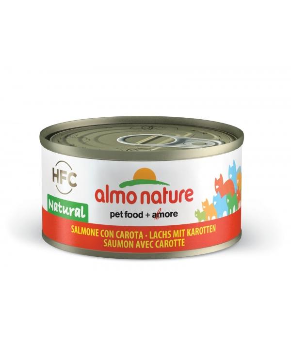 Консервы для Кошек с Лососем и Морковью 75% мяса (Legend HFC Adult Cat Salmon&Carrot) 5032H