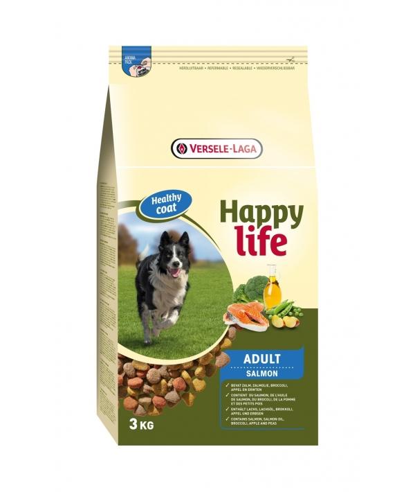 Для собак с лососем (Happy life Adult Salmon) 431088