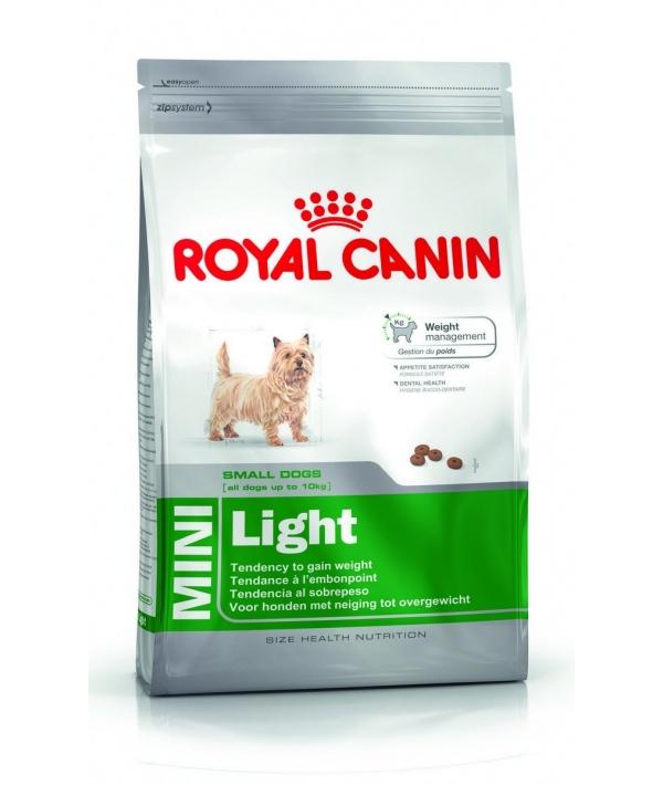Для собак малых пород низкокалорийный: с 10 мес. (Mini Light Weight Care) 309008/356008