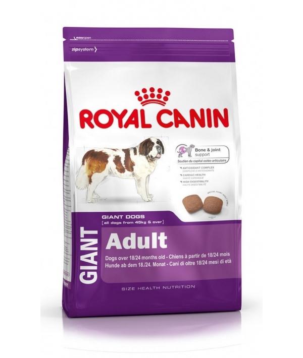 Для взр.собак гигантских пород от 45 кг с 18 мес.(Giant Adult 28) 133040