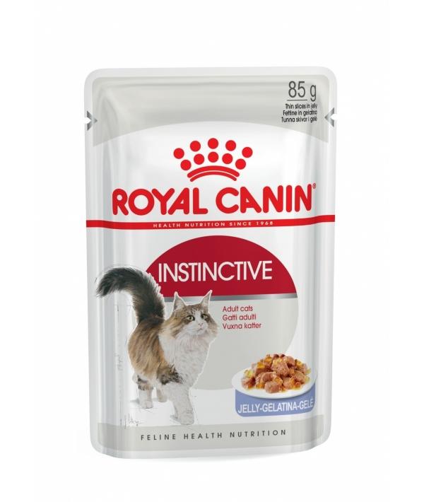 Кусочки в желе для кошек: 1–10 лет (Instinctive in JELLY) 483001