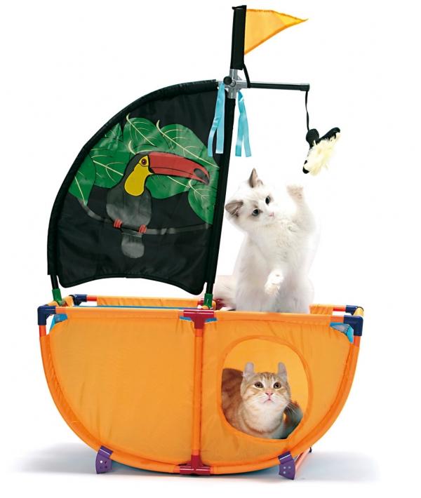 """Игровой комплекс для кошек: Карибская жемчужина. """"Caribbean Cruiser"""": 86*60*31см (pl0337)"""