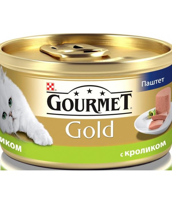 Паштет Gourmet Gold с кроликом для кошек – 12182548/12318132