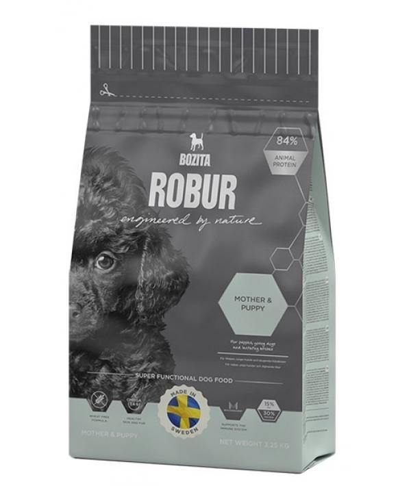 Robur для щенков, юниоров, беременных и кормящих собак (Mother & Puppy 30/15) крокеты мал.размера 14542