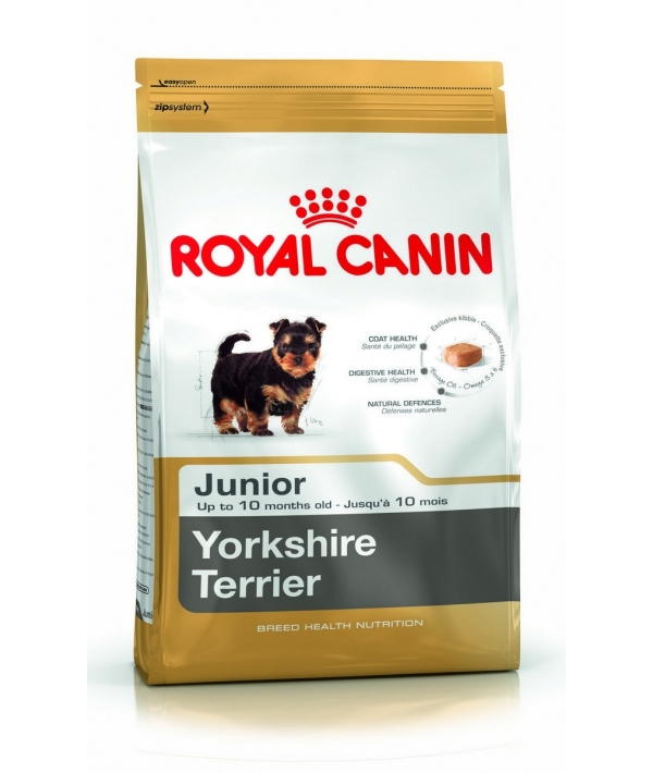 Для щенков Йоркширского терьера: до 10 мес. (Yorkshire Junior 29) 167005/ 167105