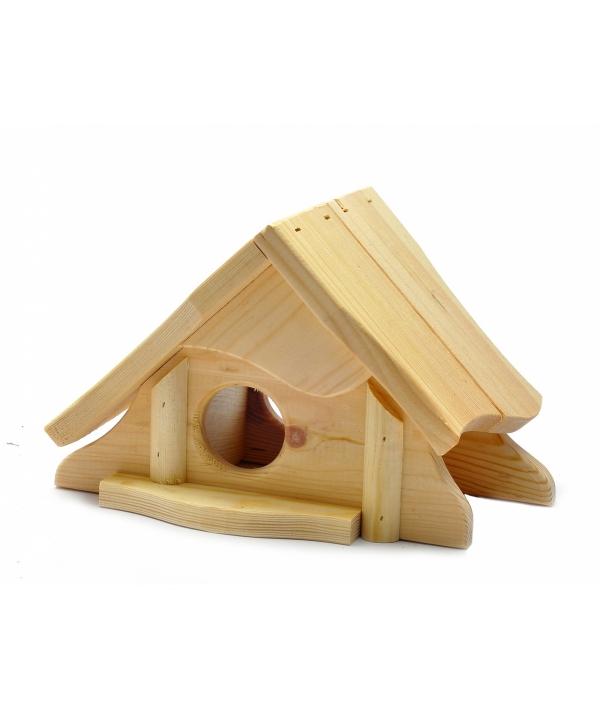 """Деревянный домик для грызунов """"Снупи"""", 28*20*18 см (Rodent house wood snoopy) 3448"""
