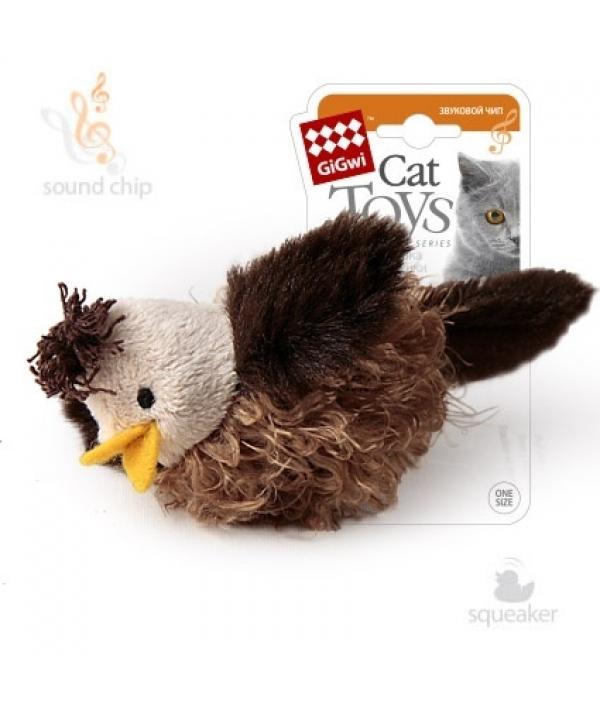 Игрушка для кошек Птичка со звуковым чипом (75223)50198