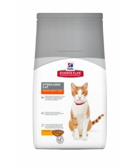 Для молодых кастрированных котов и кошек: 6мес. – 6лет (Young Adult Steriliset Cat) 9338Y