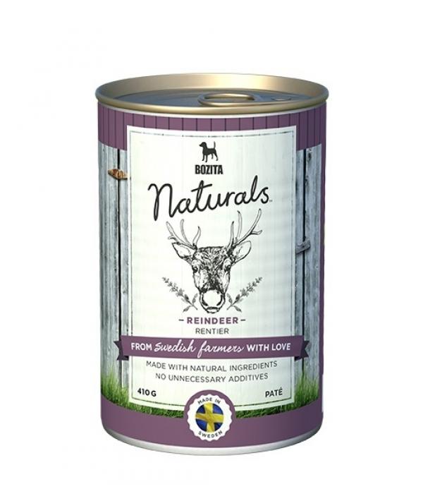 Naturals консервы для собак с олениной