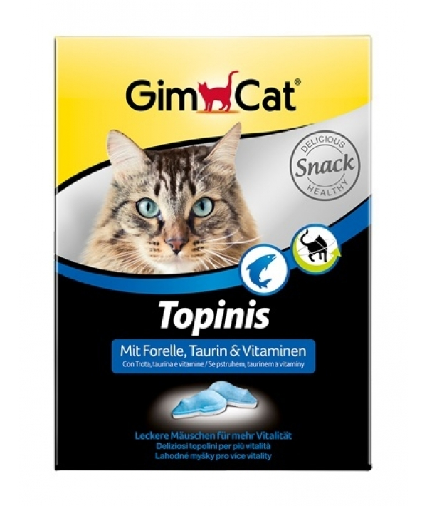 """Витамины для кошек """"Мышки"""" с форелью и таурином, 70шт. 409726"""
