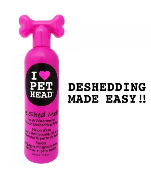 """Кондиционер арбузный """"Чудо – Линька"""" для линяющих Собак с кокосовым маслом, без сульфатов и парабенов (DE SHED ME!! for Dogs) PH10201"""