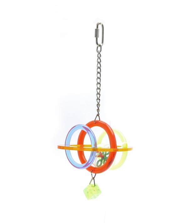 "Игрушка для попугаев ""Гоша"", 17*10*10 см (Coco toys for parrots and parrakeet) 14417"