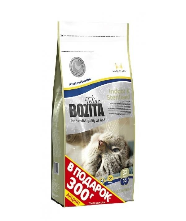 Для домашних и стерилизованных кошек с курицей и рисом (Indoor&Sterilised 32/14)