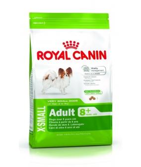 Для взрослых собак карликовых пород (X–Small Adult 8+) 336005