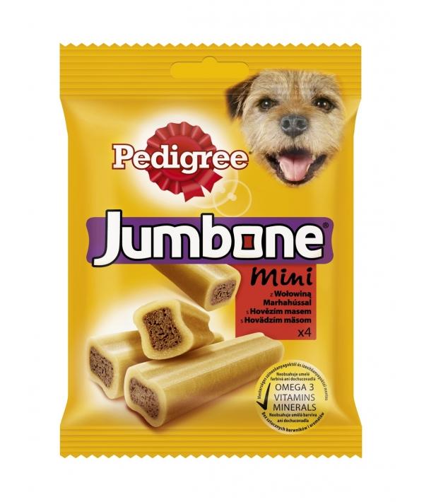 Лакомство для собак кость Джамбоун mini с говядиной 10137211