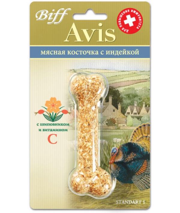 Мясная Косточка Avis для аллергичных собак с индейкой,1шт. – 1889