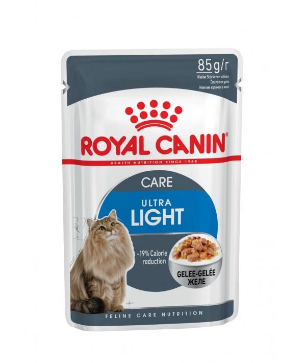 Кусочки в желе для кошек: 1–7 лет, низкокалор. (Ultra Light) 786001