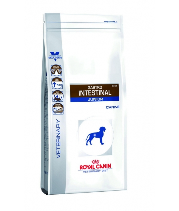 Для щенков до 1 года при нарушении пищеварения (Gastro Intestinal Junior GIJ29) 623025