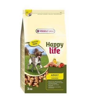 Для собак с курицей и рисом (Happy life Adult Chicken) 431119
