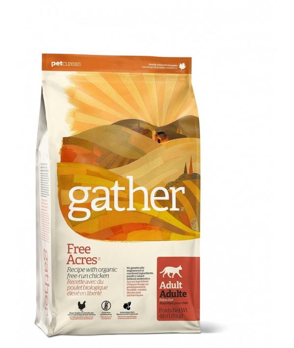 Органический корм для кошек с курицей (GATHER Free Acres Chicken CF) 4301304
