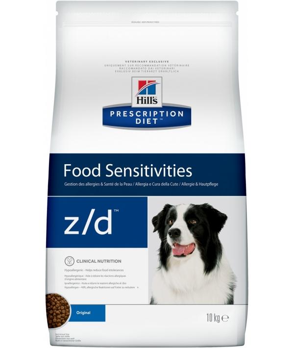 Z/D для Собак Лечение острых пищевых аллергий 5341M