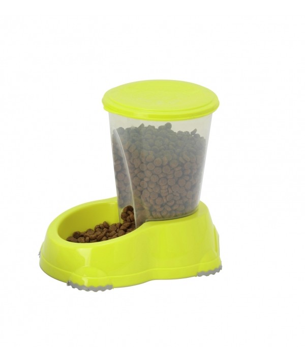 Автокормушка Smart, 1,5л, лимонно – желтый (smart snacker 1,5l) MOD – H141 – 329.