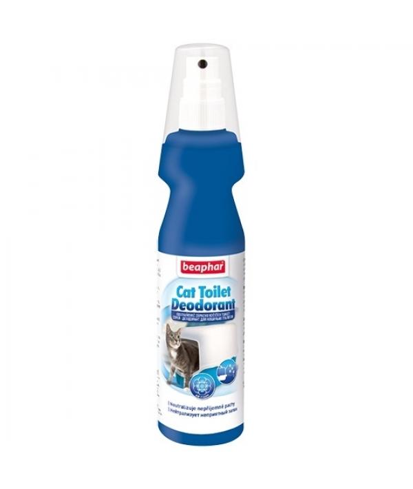 Спрей – дезодорант для кошачьих туалетов 150 мл 14196