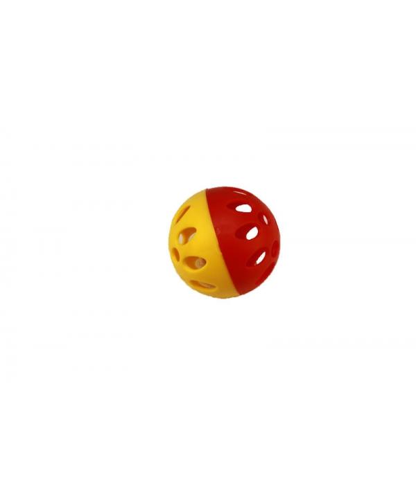 1шт. Мячик пластмассовый для кошек, 3,5см (2400)