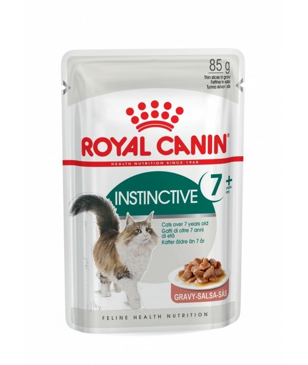 Кусочки в соусе для кошек: 7–12 лет: чувств.зубы и десны (Instinctive7+) 484001