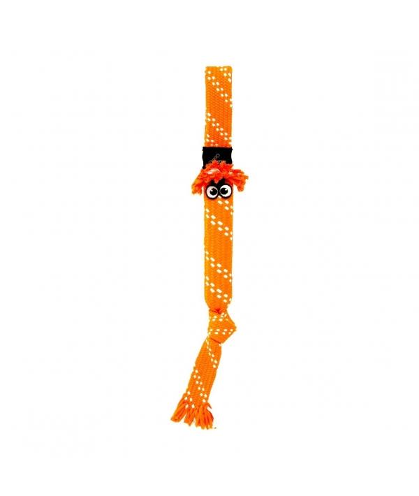 Игрушка веревочная шуршащая SCRUBZ , средняя, оранжевый (SCRUBZ ROPE TUG TOY SM) SC03D