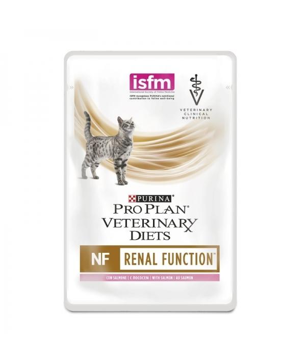 Кусочки в соусе для кошек при почечной недостаточности с лососем (Feline NF Salmon) 12278452