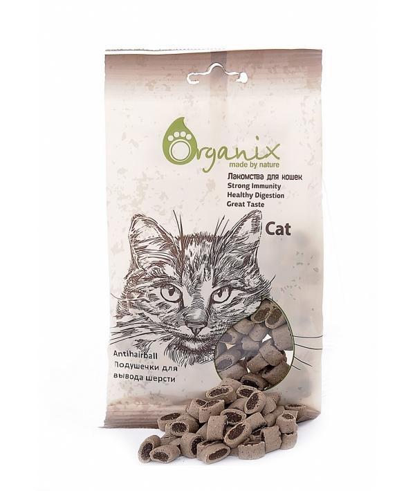 Лакомства для кошек Подушечки для вывода шерсти . (Antihairball) D3014