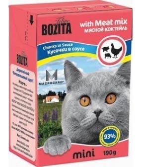 Mini Кусочки в соусе для кошек – мяcной коктейль (Meat Mix)