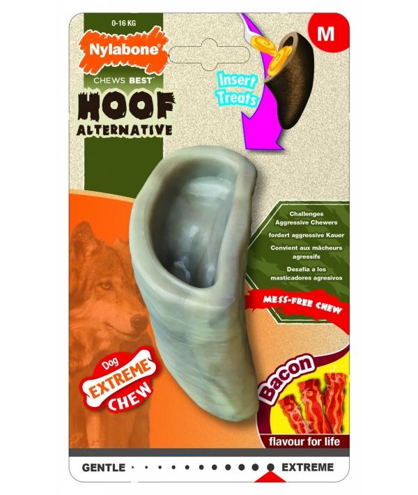 Копыто экстра – жесткое, аромат бекона, M (Extreme Chew Hoof – Bacon Flavour) 983369EU