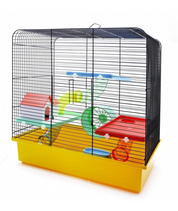 """Клетка для хомяков """"Валерия"""" 49 * 32,5 * 52,5 см (Cage for hamsters valerie funny) 35131"""