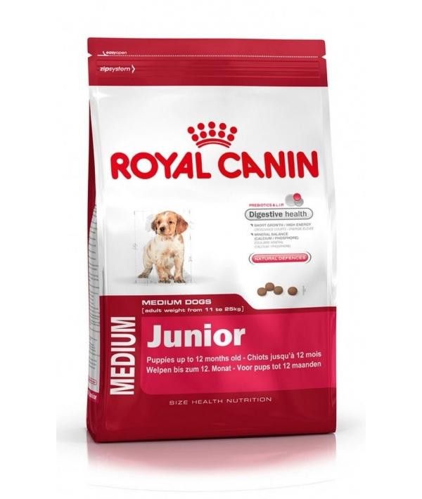 Для щенков средних пород: 2–12 мес. (Medium Junior 32)