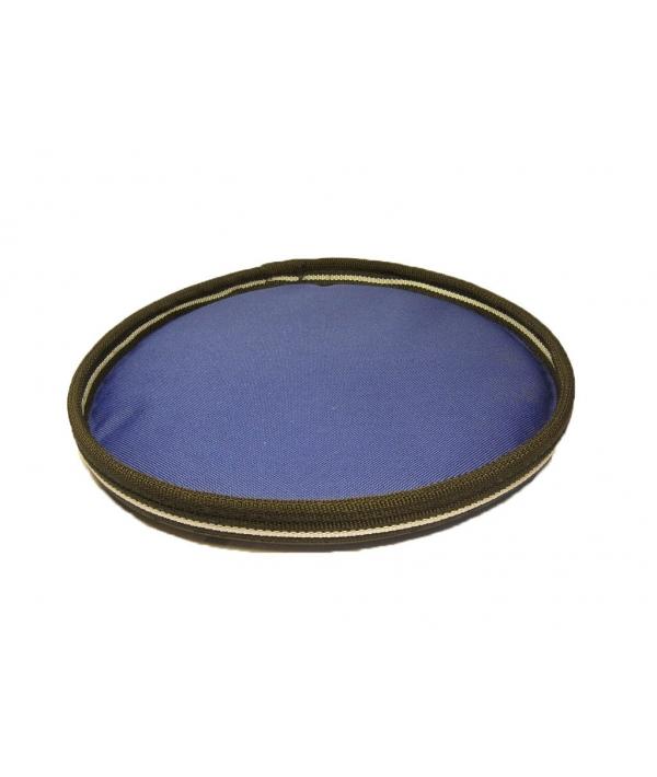 Летающая тарелка для собак, ткань, 24см (0222)