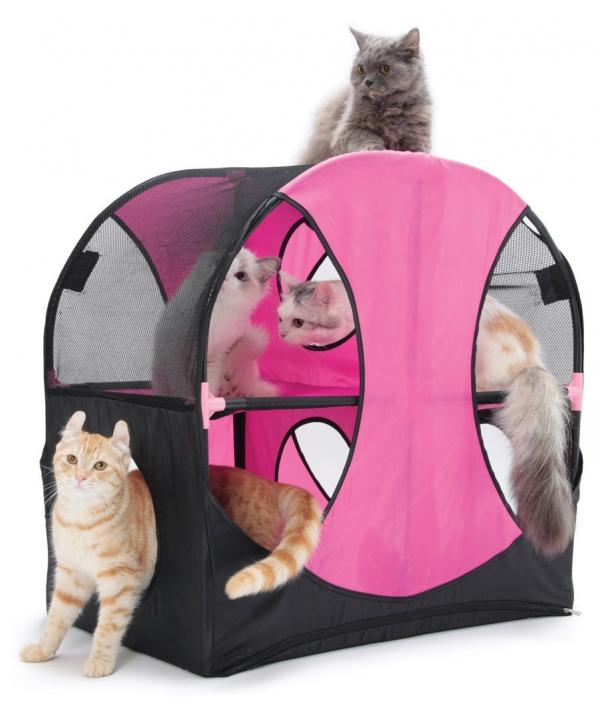 """Игровой комплекс для кошек: Колесо обозрения. """"Wheel of Fun"""": 66*66*43см (pl0229)"""