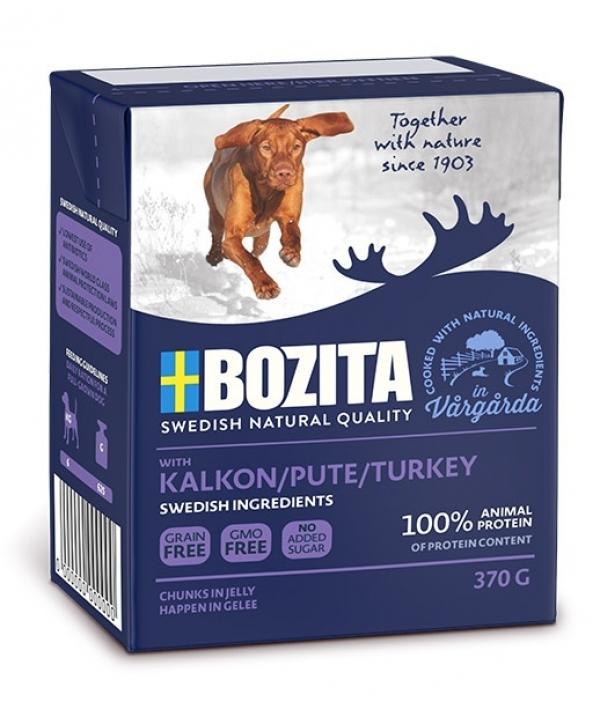 Naturals кусочки в желе для собак с индейкой