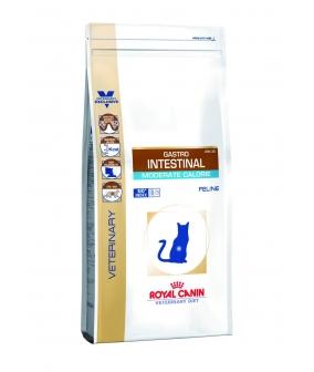 Для кошек – Диета при нарушении пищеварения с умеренным содержанием энергии (Gastro Intestinal Moderate Calorie GI–35) 735004/ 735104