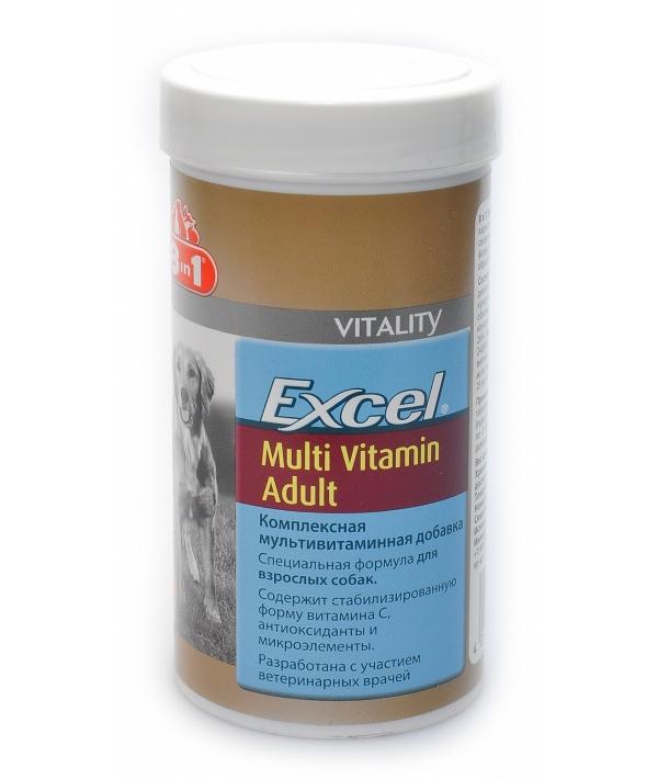 Эксель Мультивитамины для взрослых собак (70 таб.) Excel Multi Vitamin Adult 108665