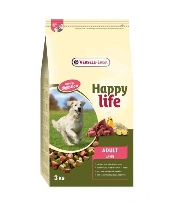 Для собак с ягненком (Happy life Adult Lamb) 431100