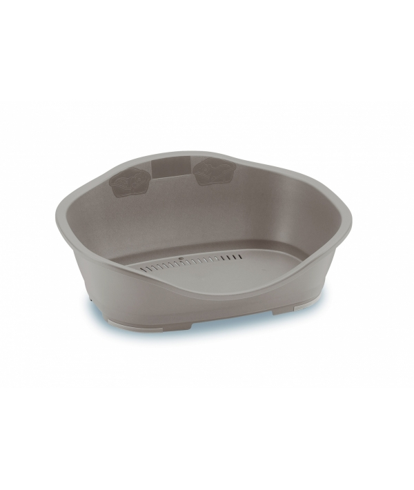 Пластиковый Лежак Sleeper 2: 68,5x49x27,5 см,бежевый (LETTINO SLEEPER 2 TORTORA CHIARO) 98142
