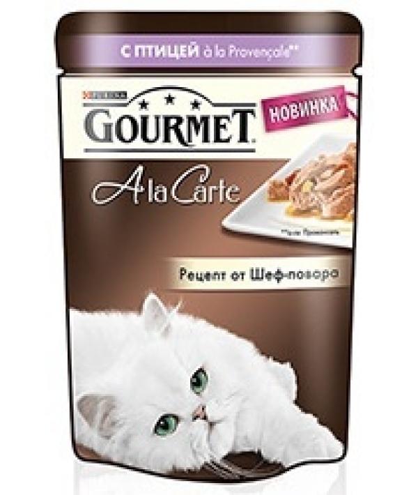 Паучи в подливе для кошек с домашней птицей и овощами (Alcte) – 12266707