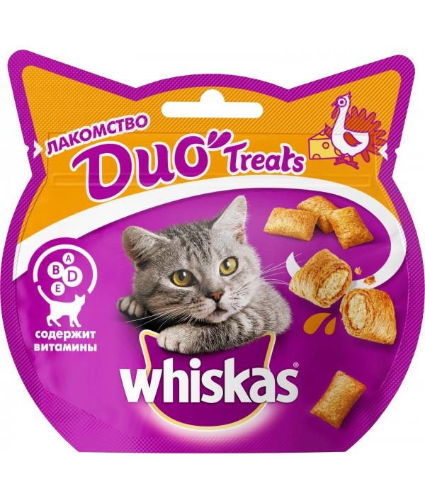 Лакомство для кошек DUO с индейкой и сыром 10167963