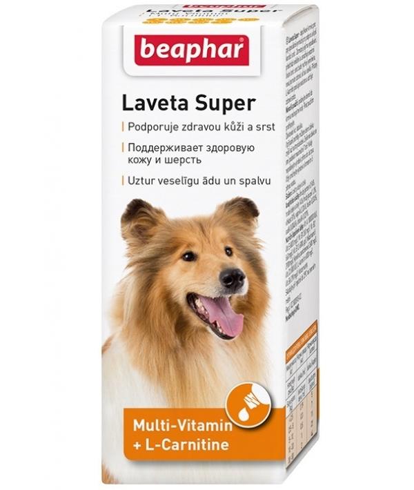 Витамины для кожи и шерсти Собак, масло (Laveta Super for Dogs) 12554