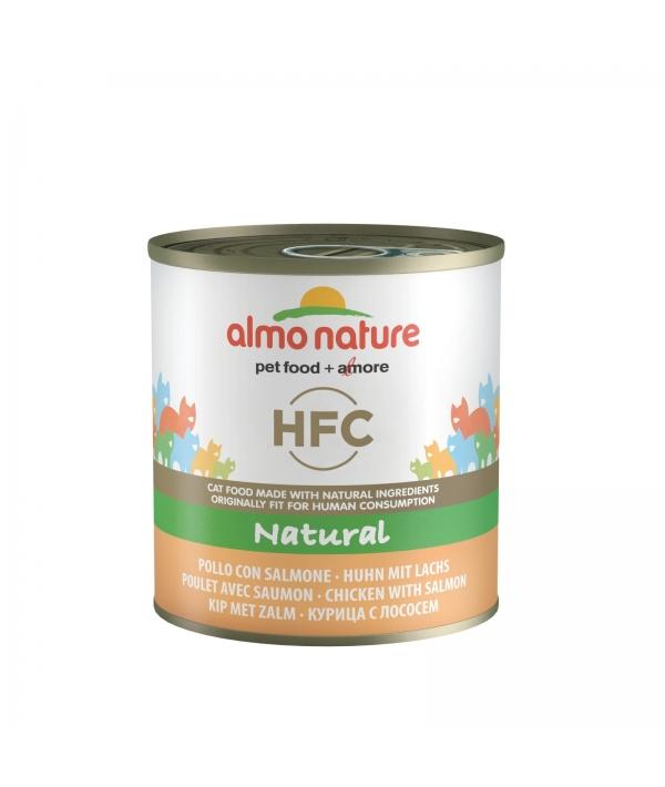 Консервы для кошек с Лососем и Курицей (Classic HFC Adult Cat Salmon&Chicken) 5153